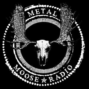 The Metal Moose Radio Logo
